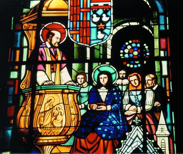St. Francis de Sales preaching