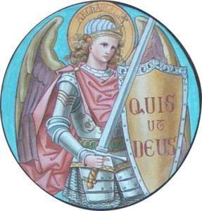 St. Michael with a shield