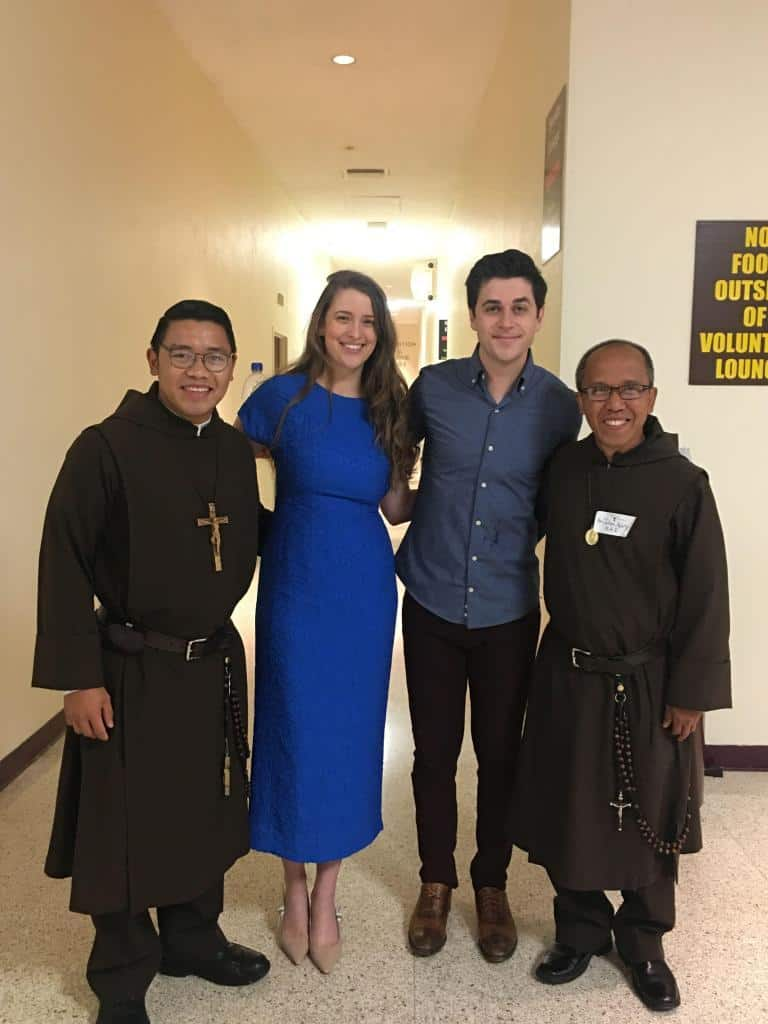 David and Maria Henrie with Knights Br. John & Br. Julian